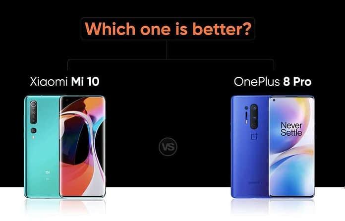 mi 10 vs oneplus 8 pro