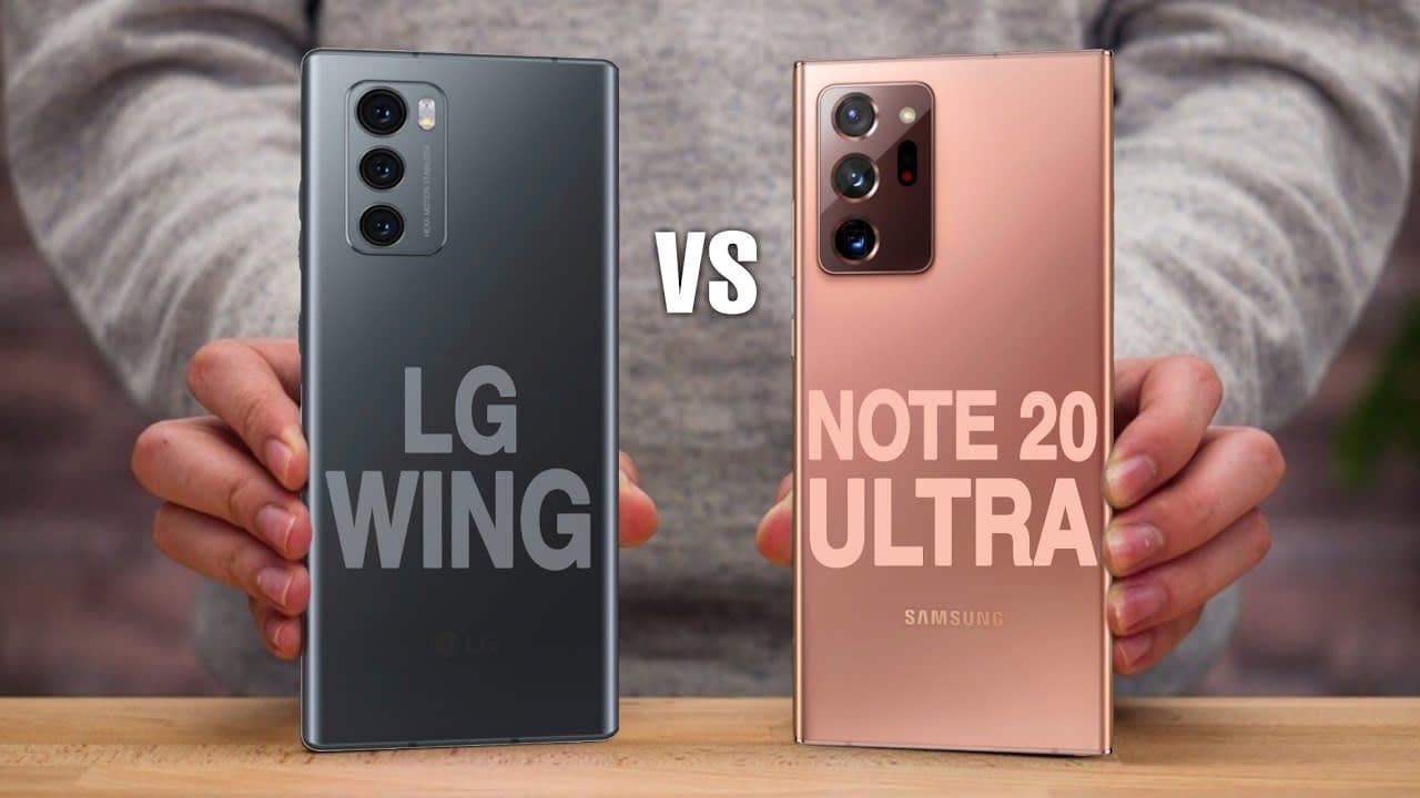 LG WING VS SAMSUNG GALAXY NOTE 20: A MUCH NEEDED COMPARISON