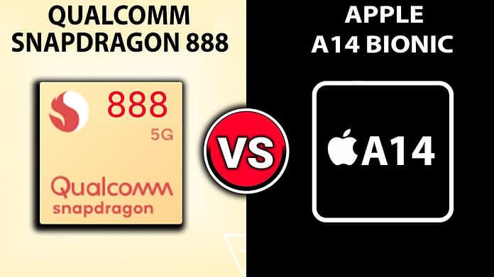 QUALCOMM SNAPDRAGON 888 VS APPLE A14 BIONIC: WHICH HAS BETTER PERFORMANCE?