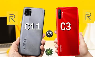 Realme c11 vs c3
