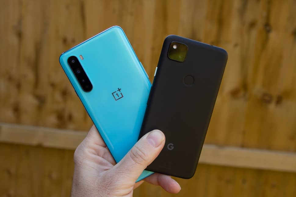 oneplus nord vs pixel 4a