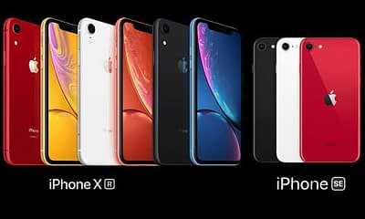 iphone xr vs se