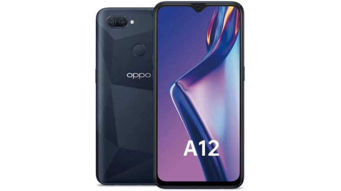 OPPO A12 officially launched 4gb ram 4230 mah battery price sale specs